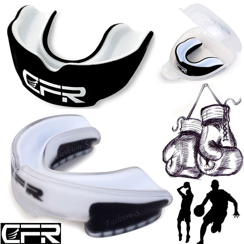 Sports Basketball Boxing Mouthguard Football Rugby MMA Shield Mouth Teeth