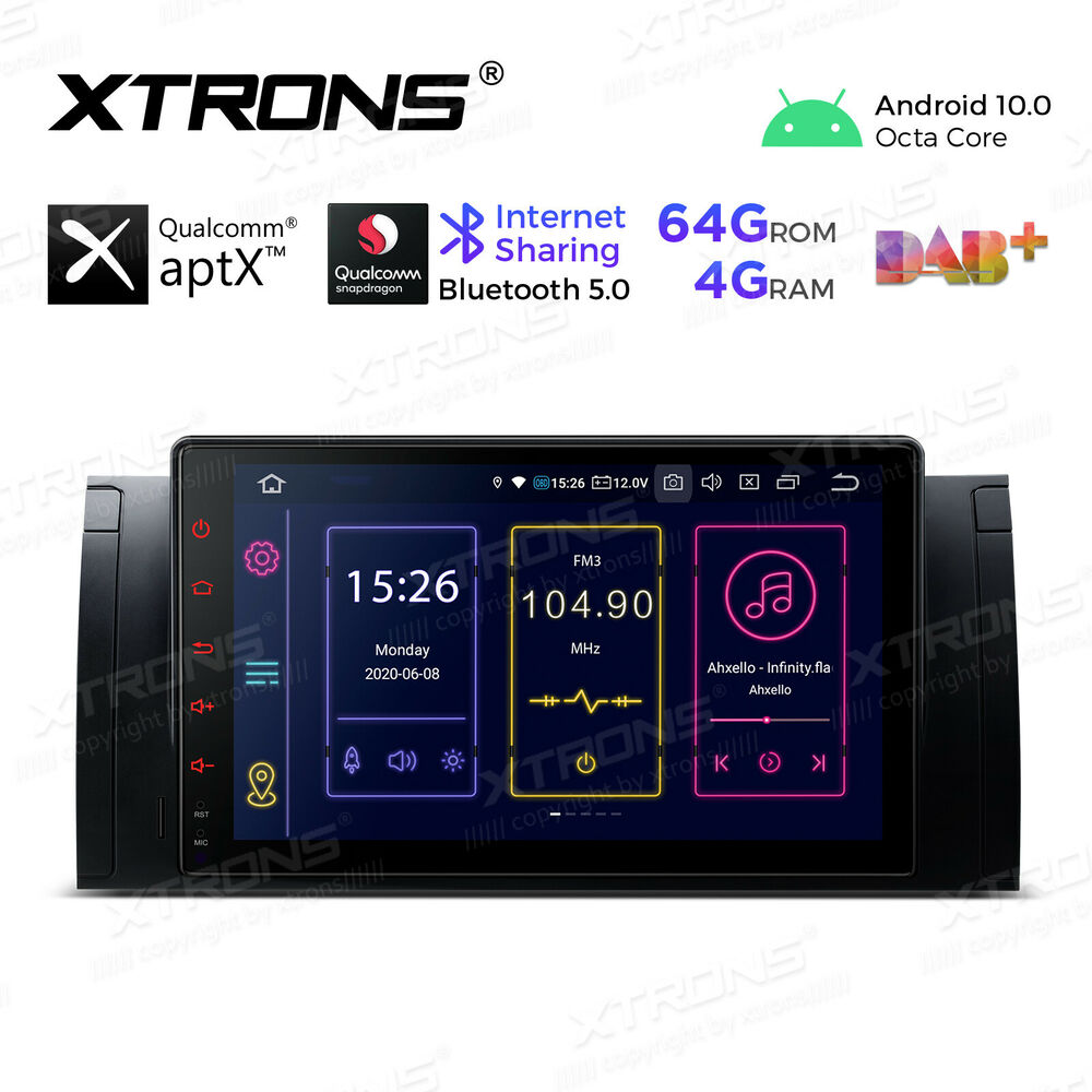 auto car radio 1 din 7 touch stereo dvd gps navigation system for bmw x5 e53 ebay. Black Bedroom Furniture Sets. Home Design Ideas