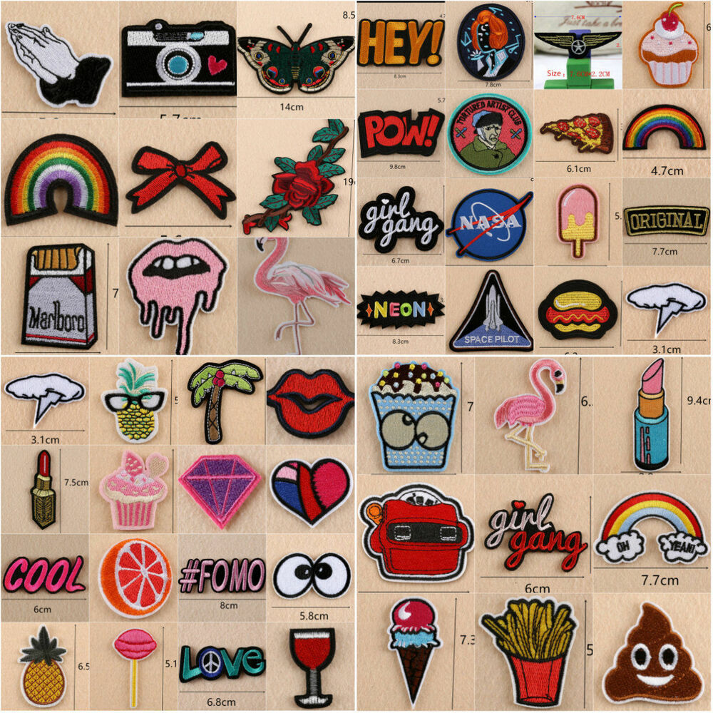 how to make patches for clothes