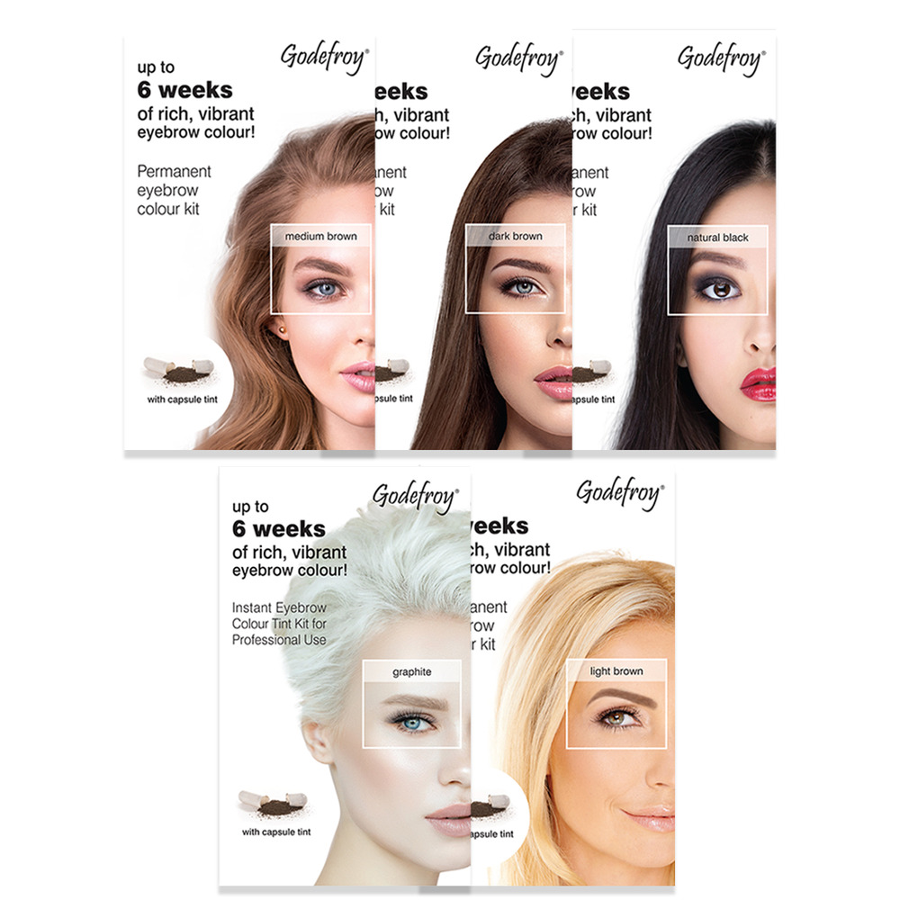 Godefroy Instant Eyebrow Tint Up To 6 Weeks Of Rich Vibrant