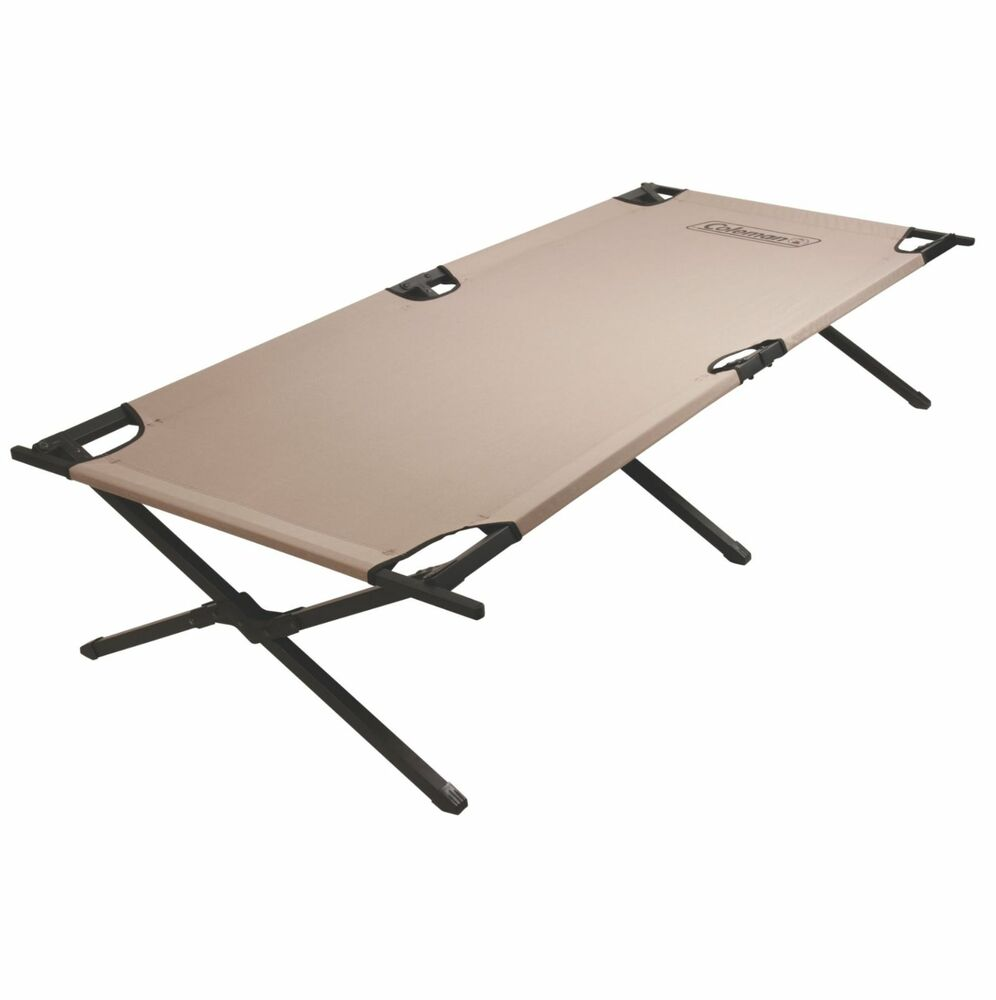 Coleman Portable Trailhead II Military Cot Outdoor Camping ...