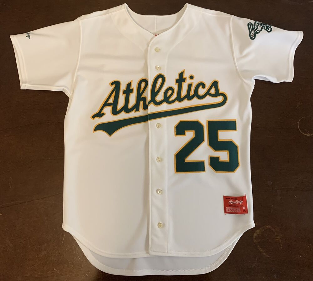 a46c70ace Vintage Rawlings Oakland A s Athletics Mark McGwire Baseball Jersey ...