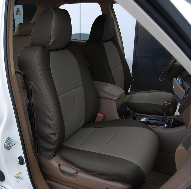 ACURA MDX 2002-2006 BLACK/CHARCOAL S.LEATHER CUSTOM MADE