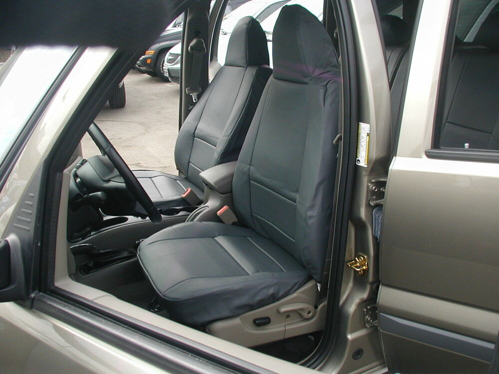 JEEP LIBERTY SPORT 2002 2013 IGGEE SLEATHER CUSTOM FIT SEAT COVER 13 COLORS