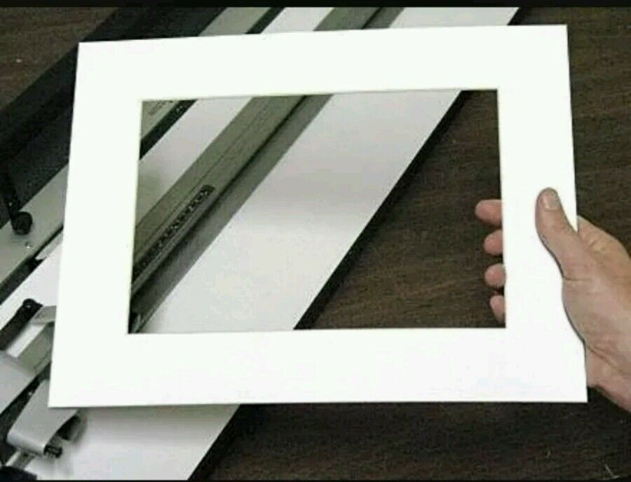 6 x Professional Picture Framing Mat Boards 12x16\