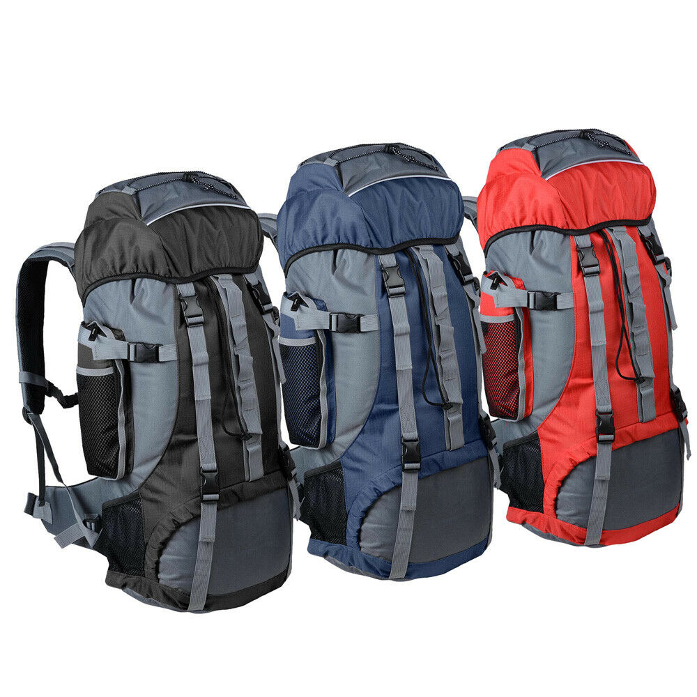 70l large camping backpack outdoor sports hiking rucksack for Outdoor rucksack