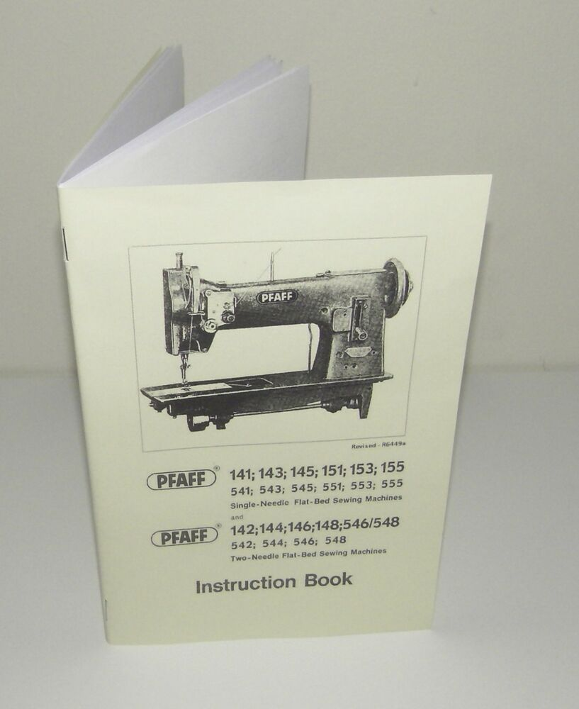 PFAFF Sewing Machine Multi Models 141 143 151 155 546 148 etc Instruction  Manual | eBay
