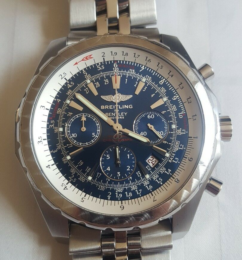 Breitling For Bentley Motors Chronograph 2008. RRP £7520