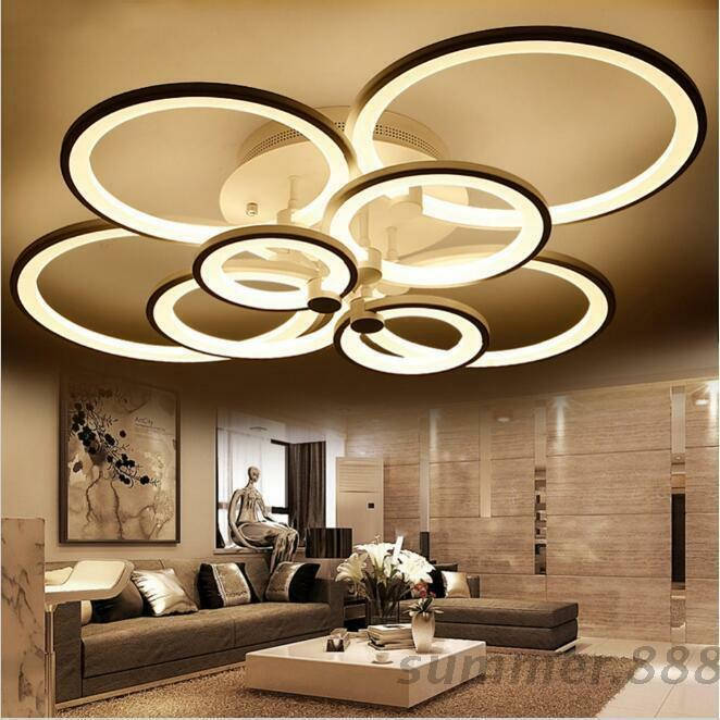 contemporary bedroom ceiling lights acrylic modern led ceiling lights living room bedroom 14933