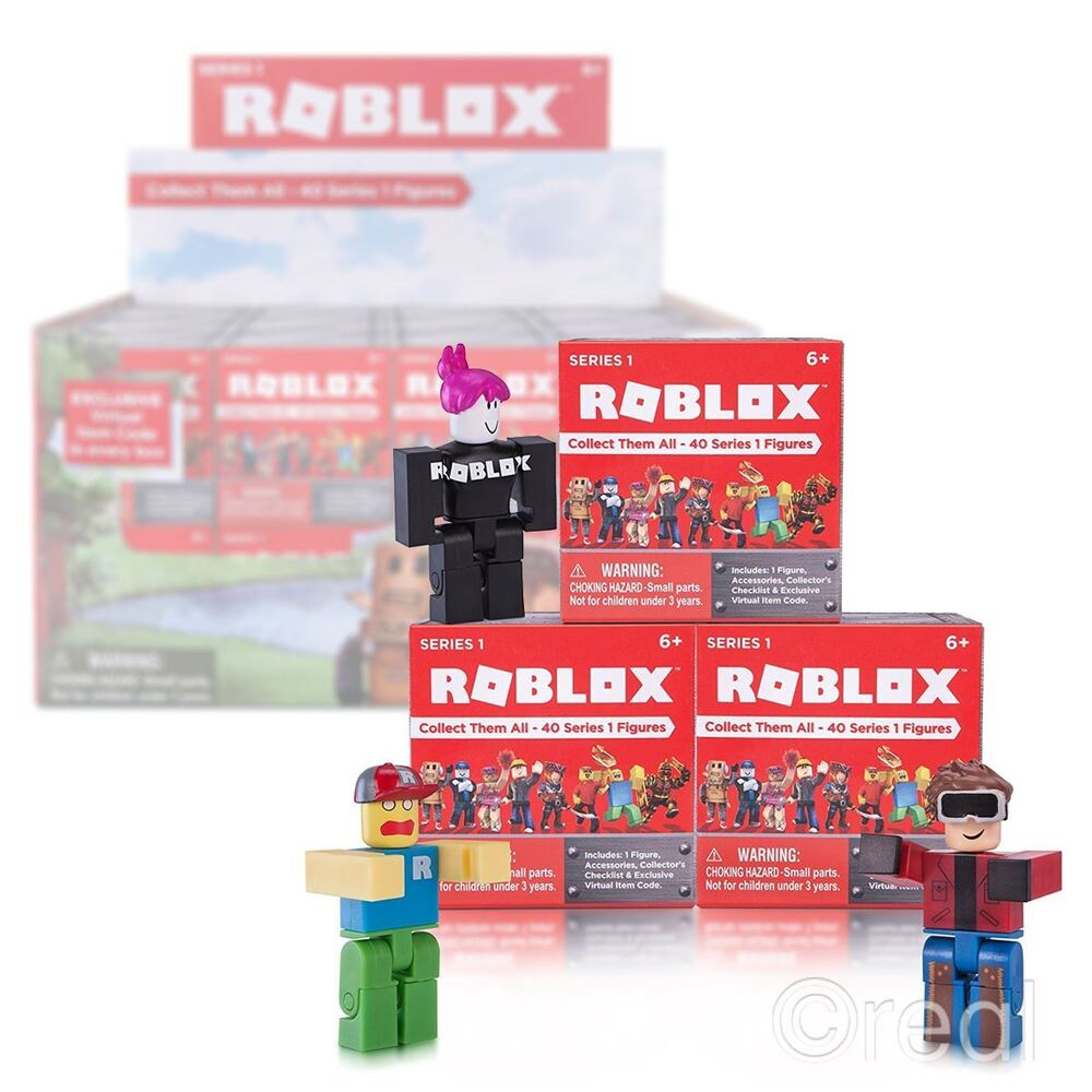 New 1 3 5 Or 10 Series 1 Roblox Blind Box Figures Amp Code