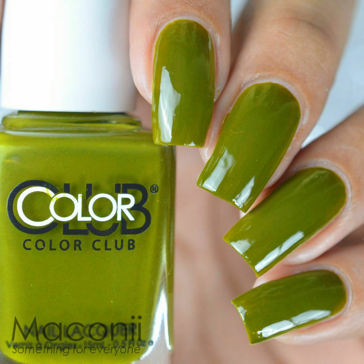 Color Club - Tribe and True - Olive Army Green Creme Nail Polish ...