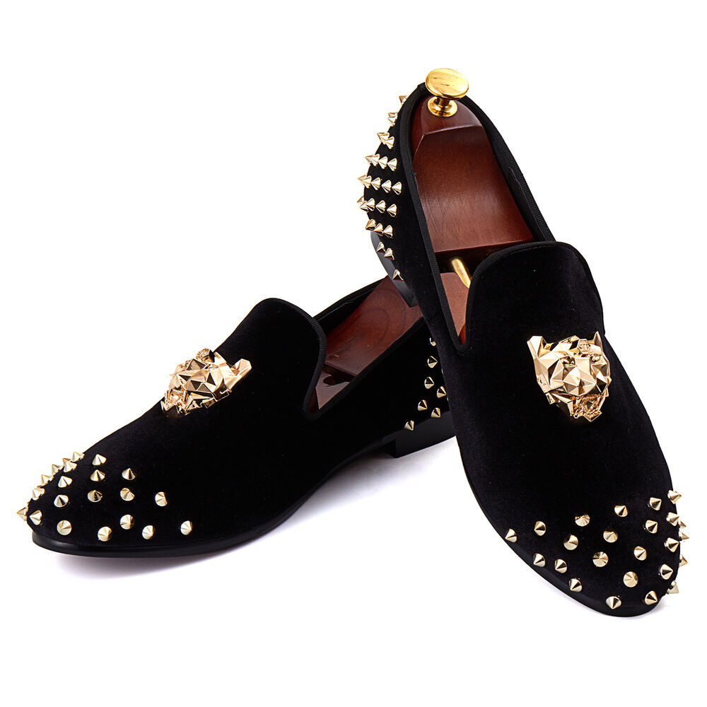 Dress Shoes With Gold Buckle