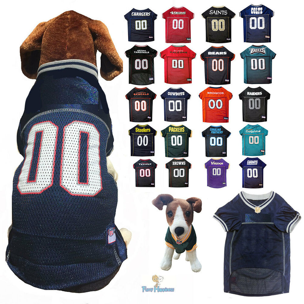 Details about NFL Fan Gear Dog Jersey Shirt for Dogs-ALL TEAMS-PICK YOURS  XS-2XL XXL BIG SIZE b9d70f8e7