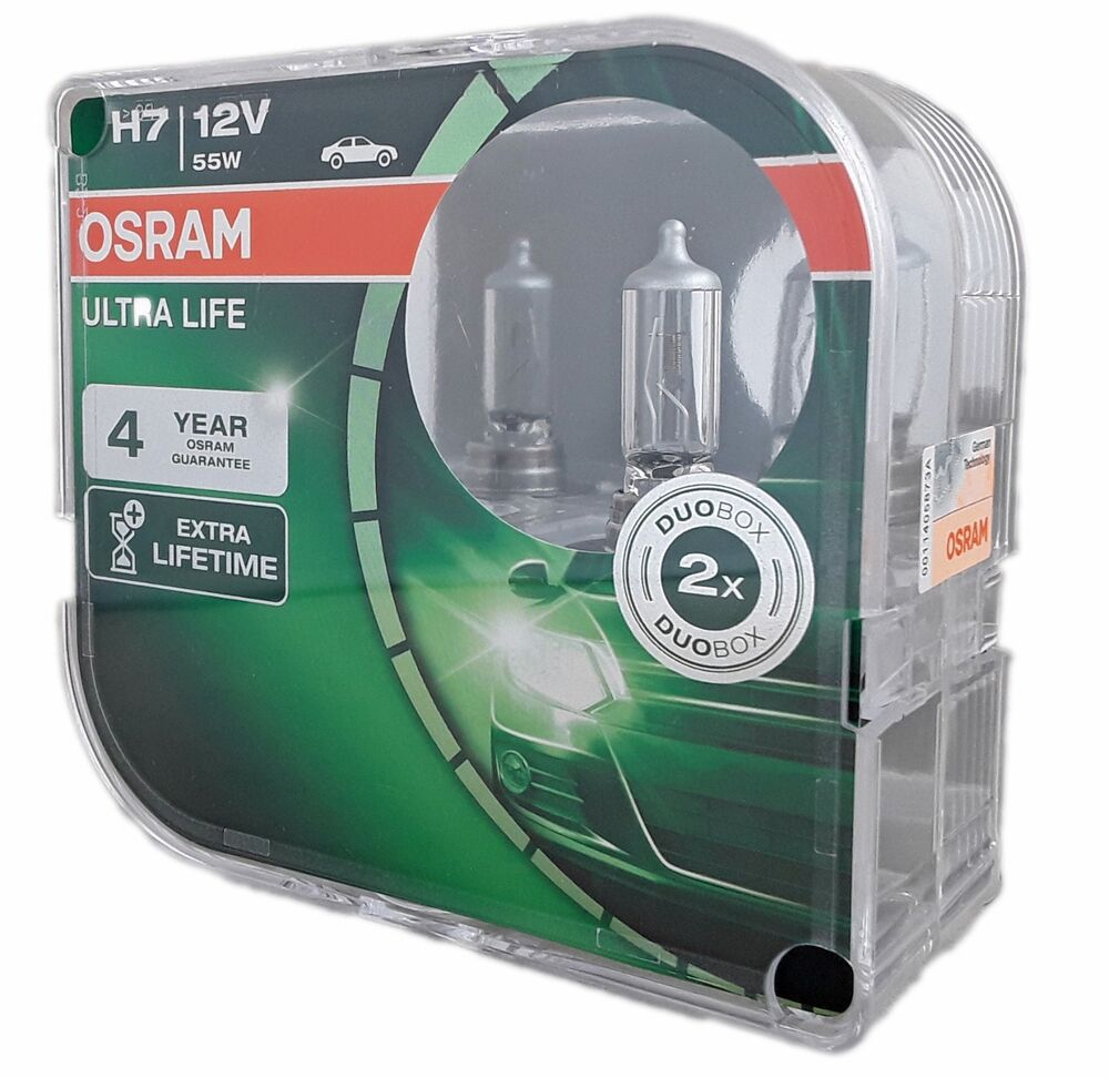 h7 osram ultra life extra lifetime px26d 12v 55w 2er box. Black Bedroom Furniture Sets. Home Design Ideas
