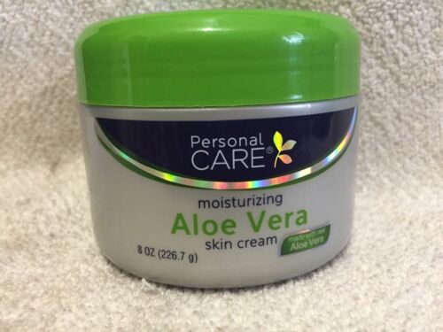 PERSONAL CARE ALOE VERA SKIN CREAM For a Natural Youthful Look 8fl.oz