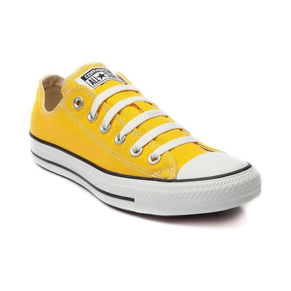 597538f20888c Details about NEW CONVERSE ALL STAR Classic LO Top LEMON Canvas Chuck Taylor  Womens Shoe