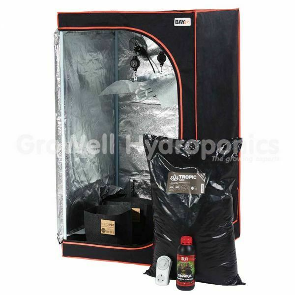 BAY6 MOTHER PLANT GROW TENT KIT/ INDOOR HYDROPONIC GROWING  sc 1 st  eBay & Hydroponic Grow Tent Kits | eBay