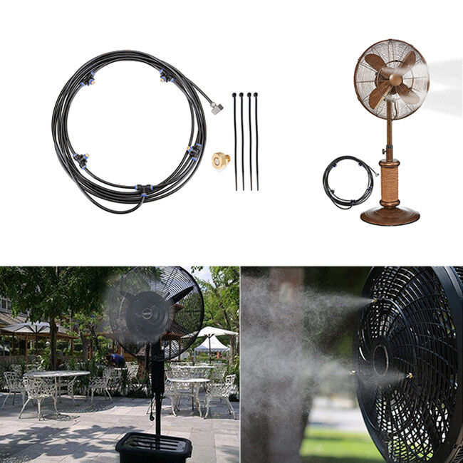 Portable Outdoor Misting System Fan Cooler Water Cooling ...