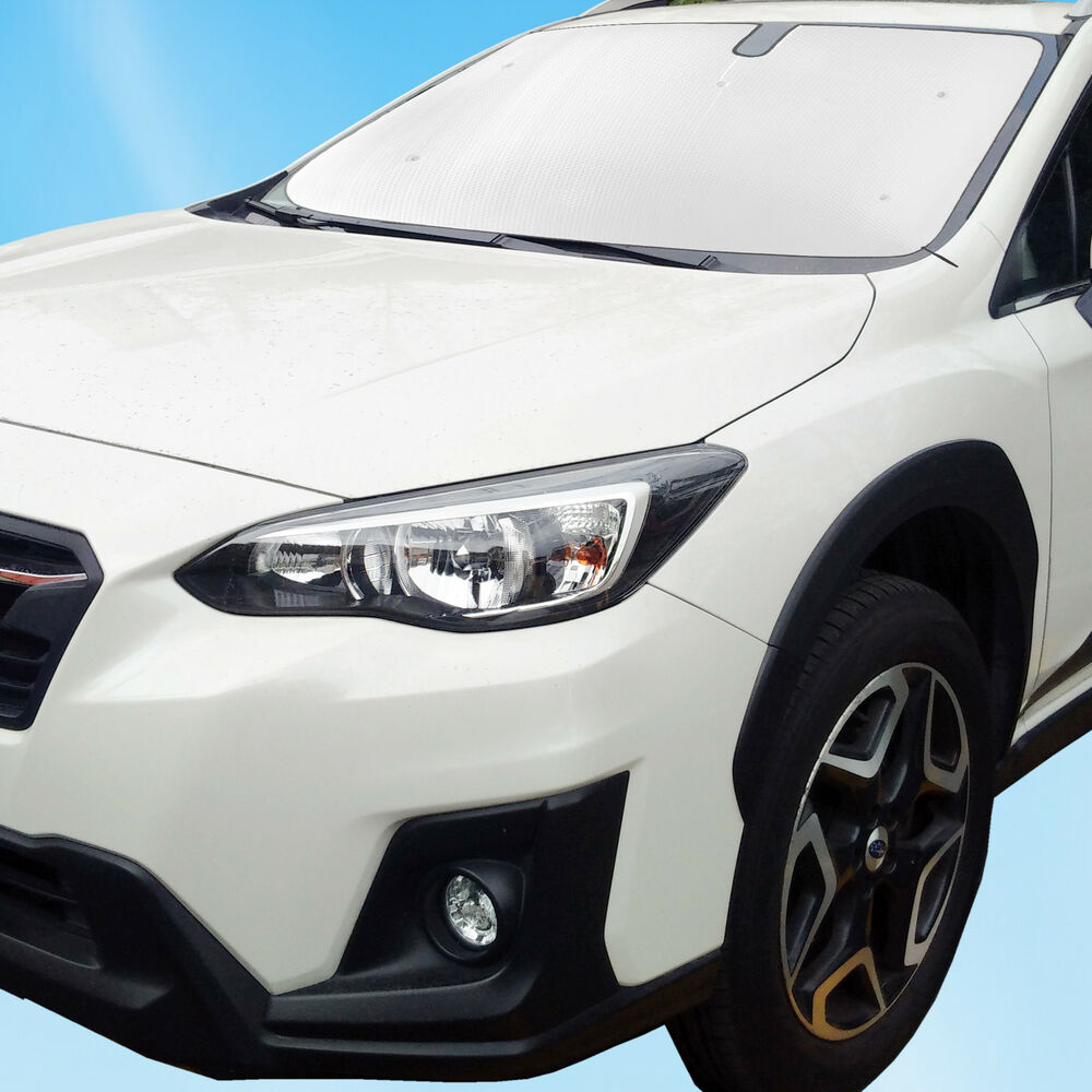 Details About Fit For Subaru Xv Crosstrek 2017 2018 Front Windshield Custom Sunshade