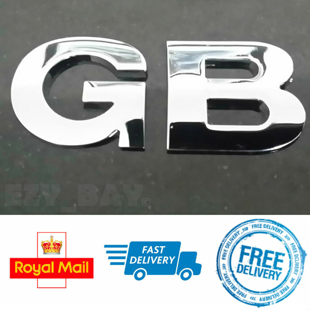 Chrome Car Decals EBay - Letter stickers for cars