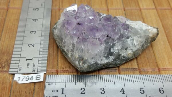 AMETHYSTE DRUZE d'Urugay AAA - déco mineraux lithotherapie reiki collection