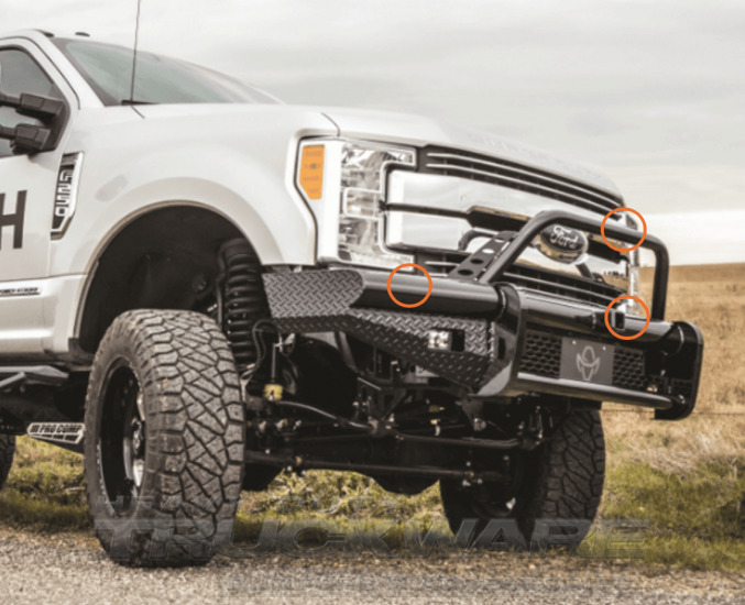 New Ranch Hand Bullnose Front Bumper 2017 2018 Ford F250 ...