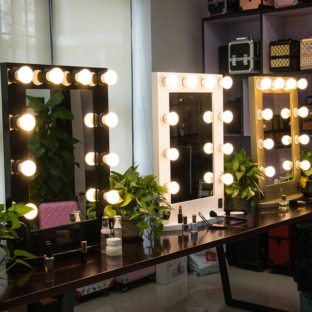 Vanity Mirror Light Hollywood Makeup Mirror Wall Mounted