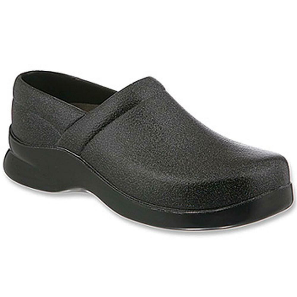 8d3b1ba51043 Details about Klogs Brice Women s Polyurethane Clogs Display Model Shoes  Black Shimmer 13 W