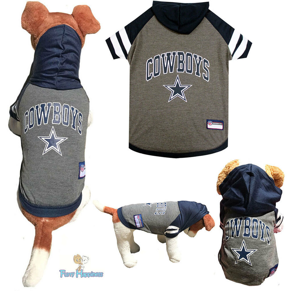 d0a7e6676 Details about NFL Fan Gear DALLAS COWBOYS Dog Shirt Dog Hoodie Tee for Pets  Dogs