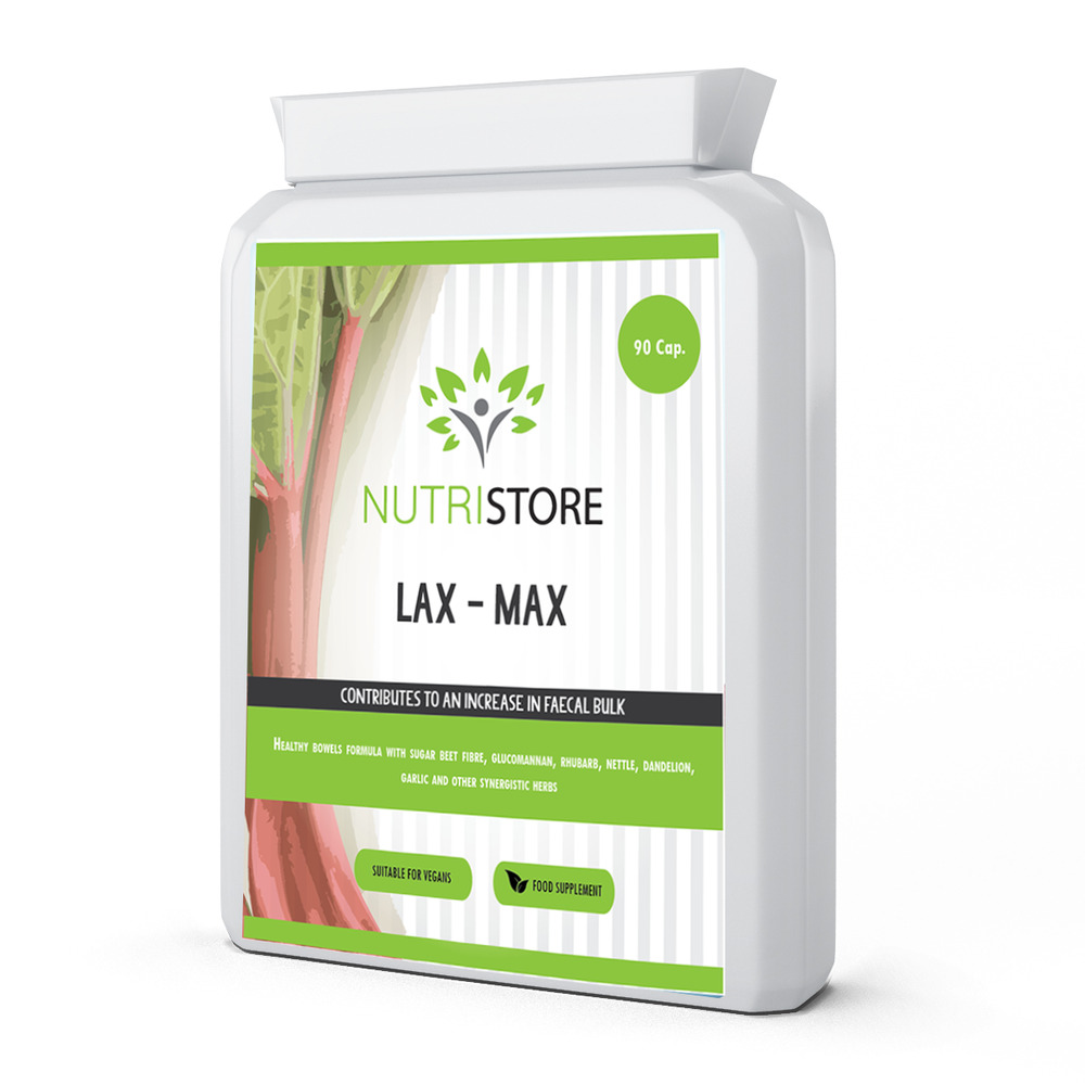 Lax Max Natural Laxative Stool Softener Constipation