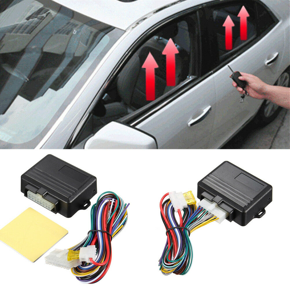 Details about New Universal Automatic 4-door Car Window Closer Module Auto  Security System Kit 08561afaef