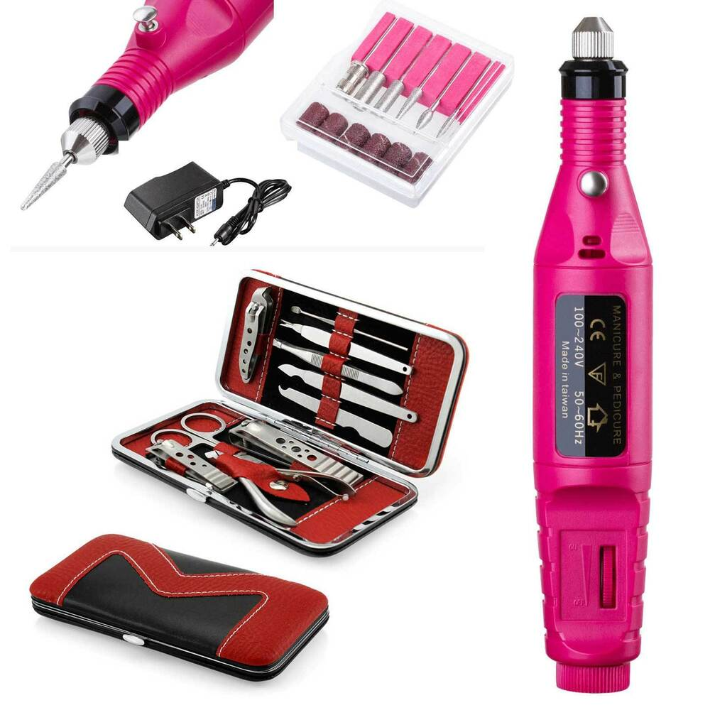 Professional Electric Nail File Drill Manicure Tool Pedicure Machine ...