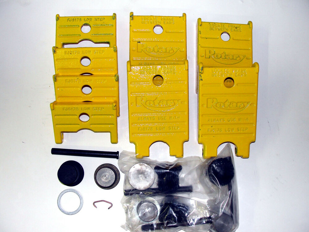 Rotary Lift Replacement Parts : Rotary lift set of adapter pad repair kits spoa