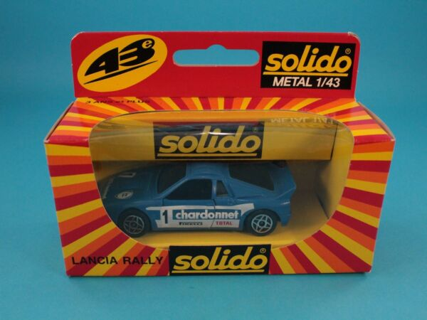 1/43 SOLIDO N. 1205 LANCIA RALLY FONDO MAGAZZINO BOXED [PU3-015]