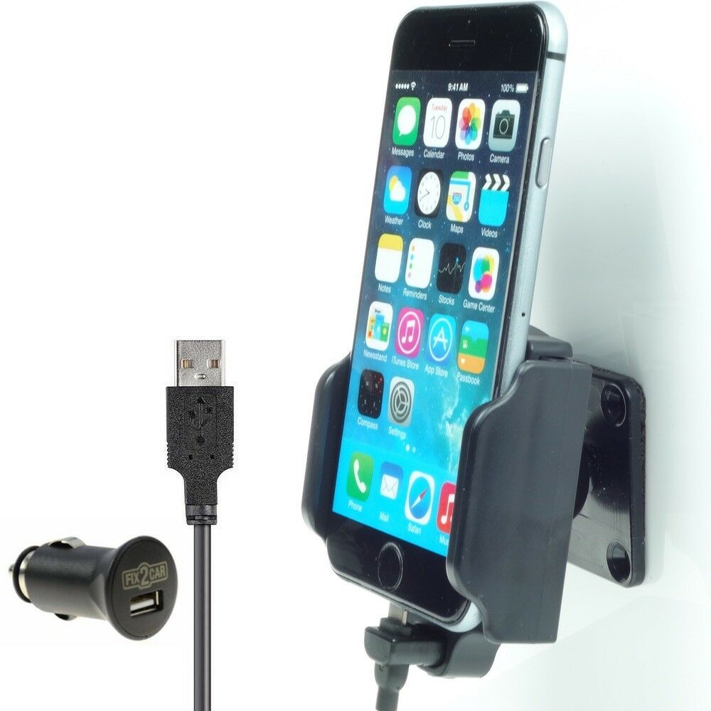 fix2car apple iphone car phone holder dash mount. Black Bedroom Furniture Sets. Home Design Ideas