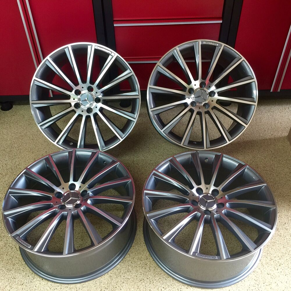 Mercedes 2018 19 Inch E63 Multispoke Gunmetal Rims Wheels