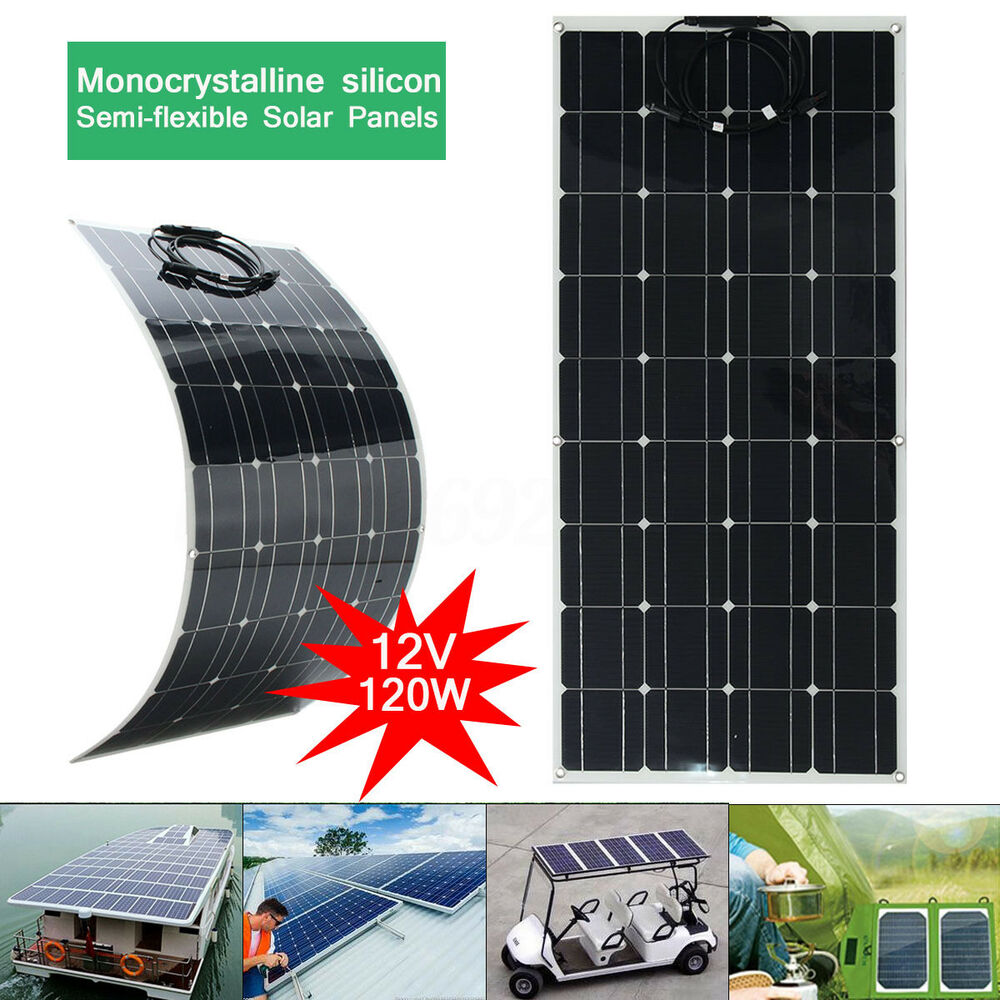 elfeland 100 120w 12 18v solarmodul solarpanel. Black Bedroom Furniture Sets. Home Design Ideas