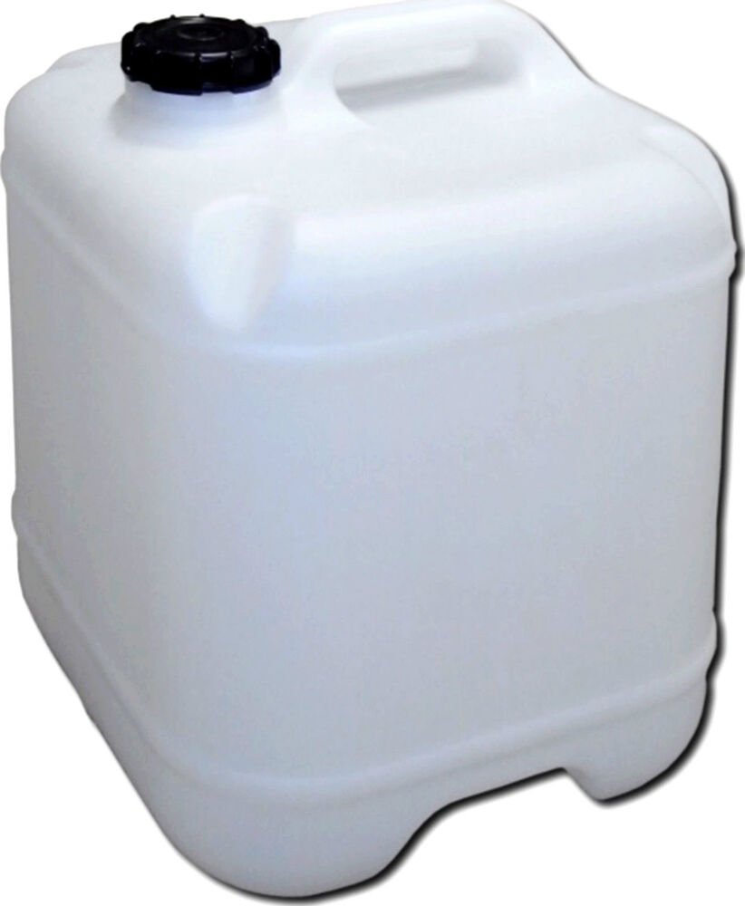 15 L Lt Water Storage Cube Container Plastic Jerry Can