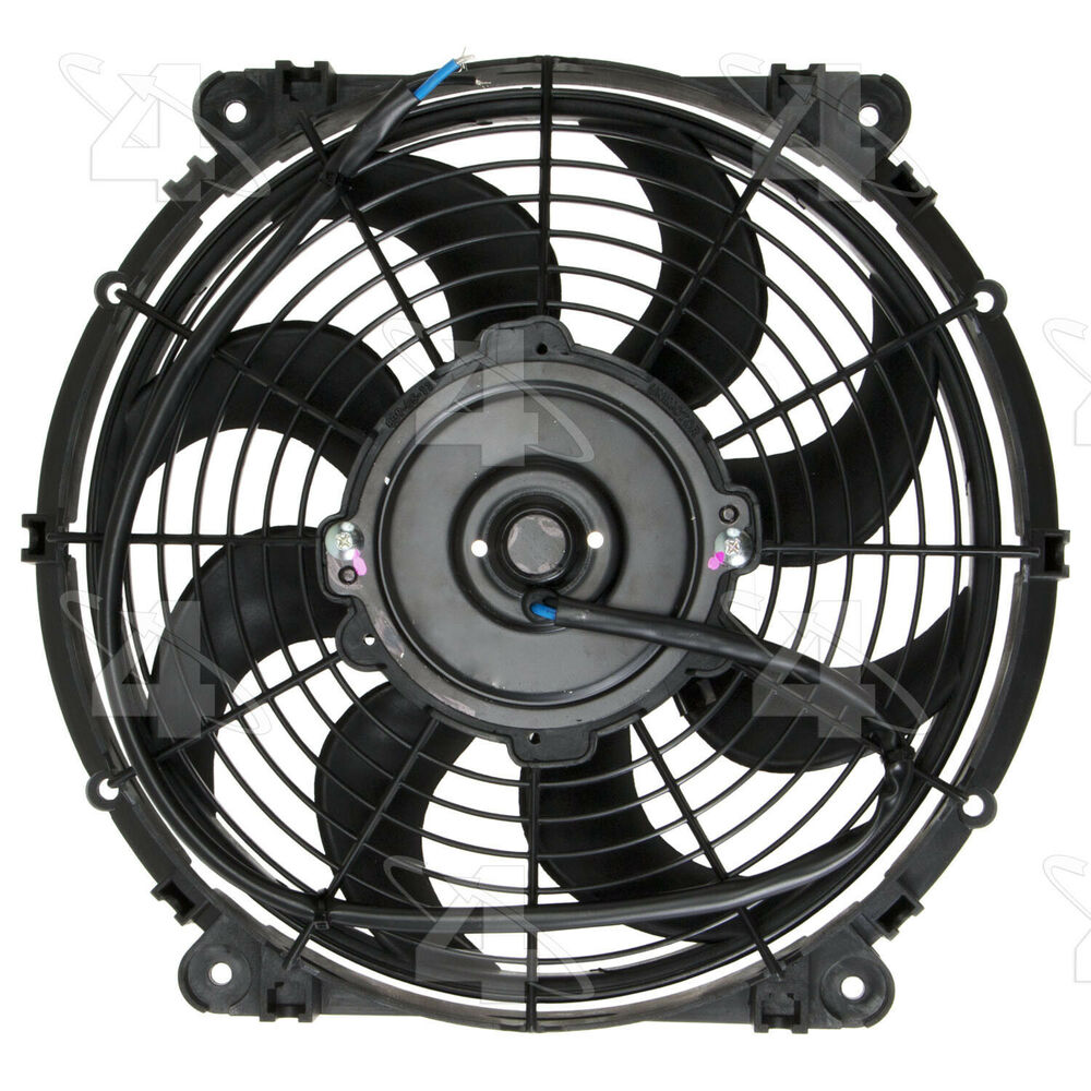 engine cooling fan electric fan kit hayden 3670 ebay Black Convertible