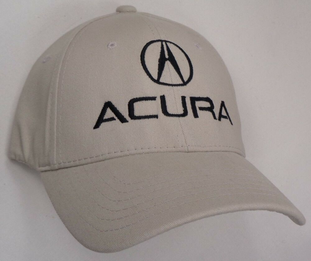 Hat Cap Flex Fitted Acura A Logo Tan Small Or Large V EBay - Acura hat
