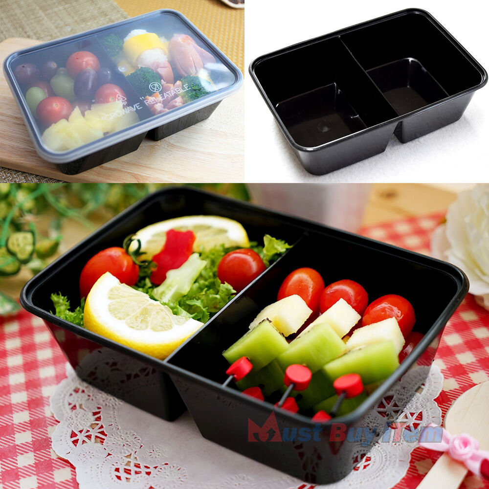 Meal Prep Food Plastic Storage Lunch Box Containers