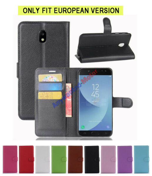 Flip Magnetic Wallet PU Leather Case For Samsung Galaxy J5 (2017) Pro SM-J530F