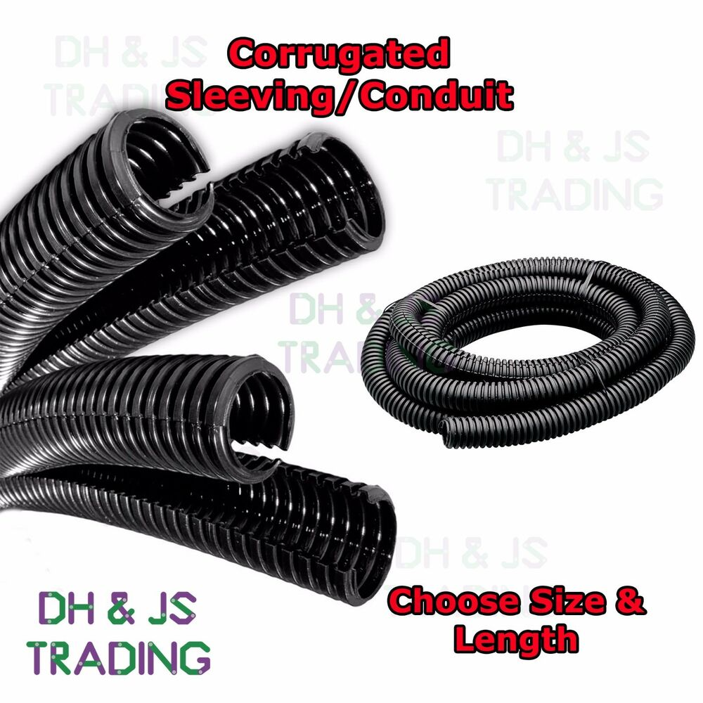 Flexible Cable Tidy Conduit Corrugated Sleeving Convoluted