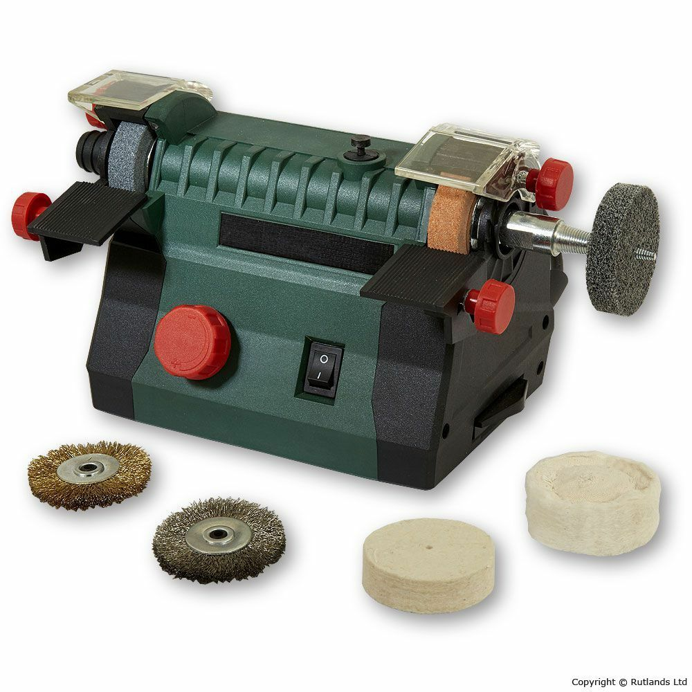 Mini Bench Grinder With Flexi Drive Shaft Ebay