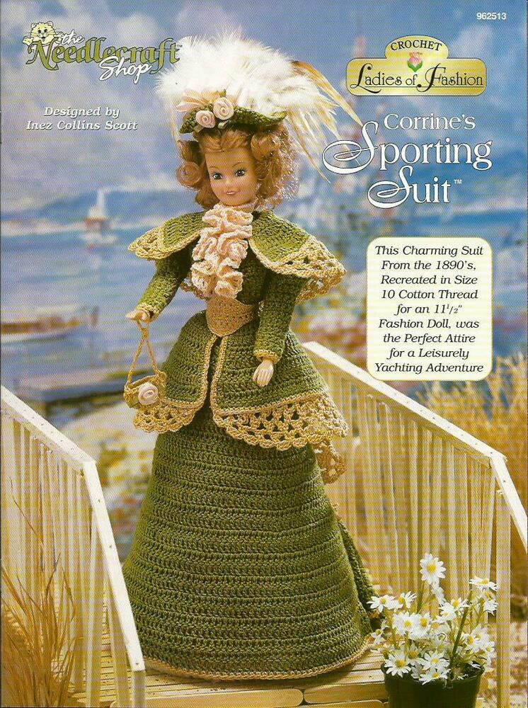Corrines Sporting Suit Ladies Of Fashion Crochet Pattern For Barbie