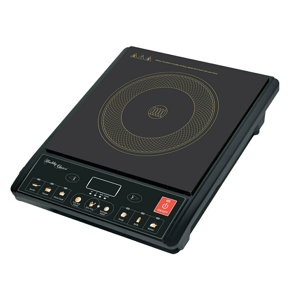 Portable Electric Induction Cooker Stove Hotplate Cooktop