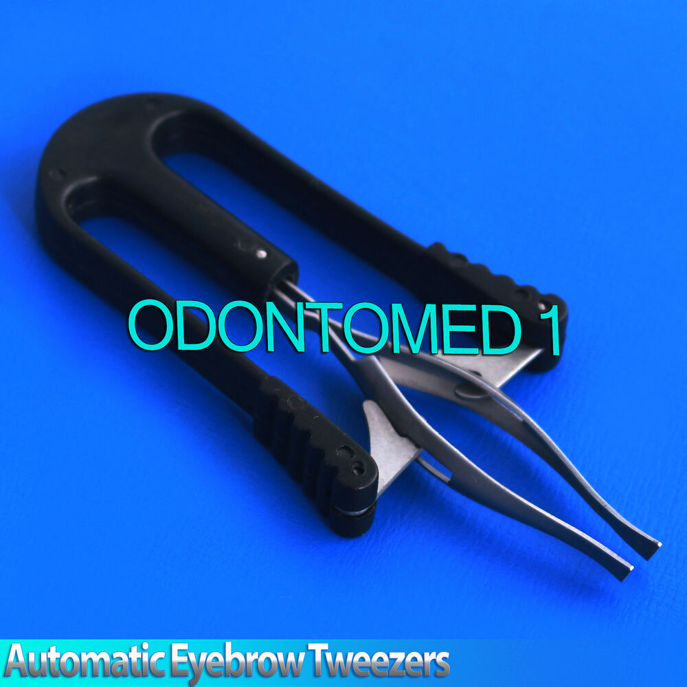 Professional Automatic Eyebrow Shaping Tweezers Hair Removal Lazy