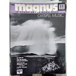Kyпить Magnus 12 Chord Organ Music book #42 на еВаy.соm
