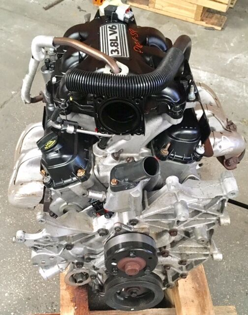 Jeep wrangler 3 8l engine 106k miles 2008 2009 2010 2011 for 2008 jeep wrangler motor