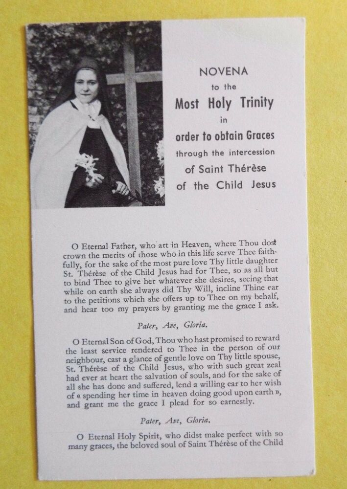 Saint Therese Of Lisieux St Therese Of The Child Jesus